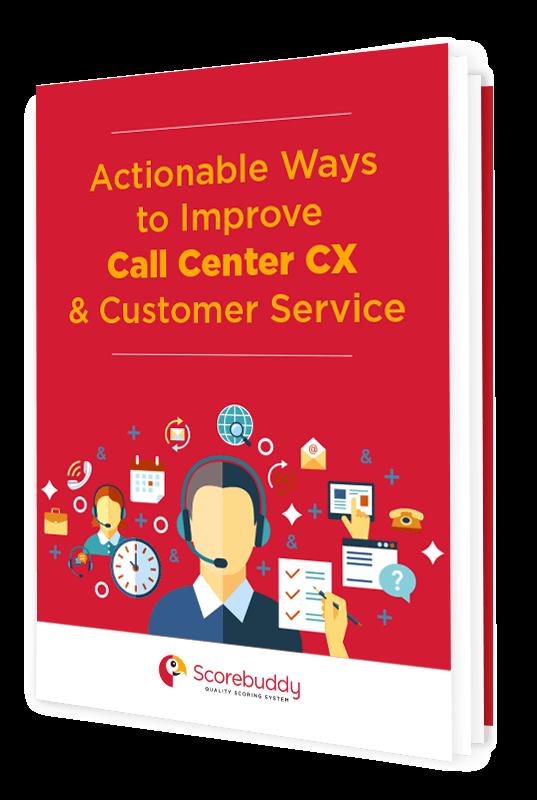 call center CX and customer service ebook